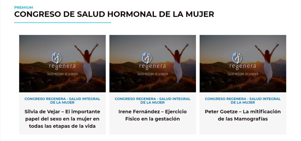 Congreso Hormonal de la mujer